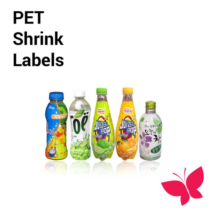 PET Shrink Labels