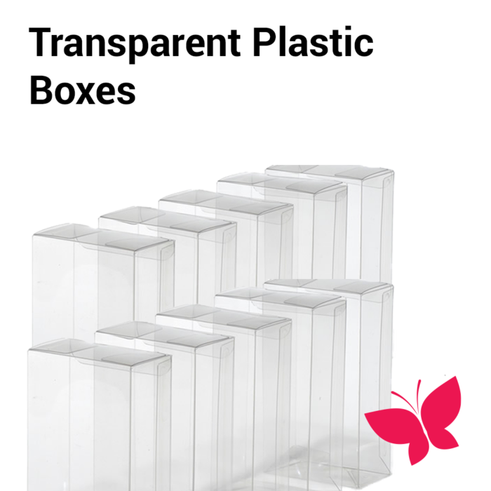 Transparent Folding Boxes